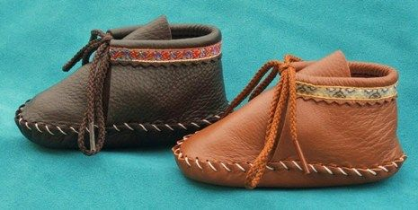 Cute baby mocs. http://www.footwearbyfootskins.com/store/item.asp?Category=7