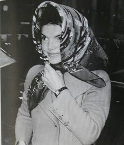 Jackie Onassis made the Hermes Dies et Hore scarf famous back in the late 1960s!