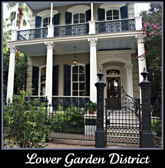 Fabulous New Orleans Lower Garden District Home Double Gallery Houses Largest Home Design Picture Inspirations Pitcheantrous