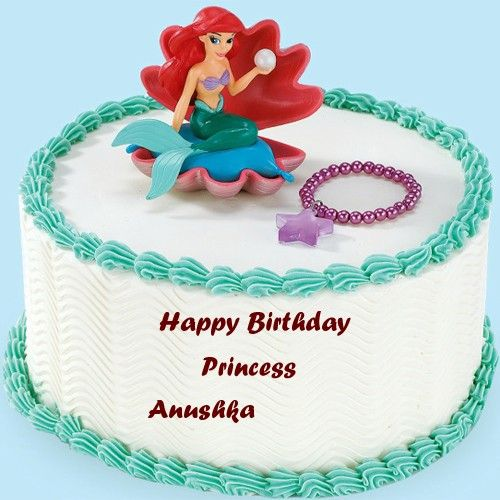 Write Princess Girls Name On Birthday Wishes Beautiful Name Cakes