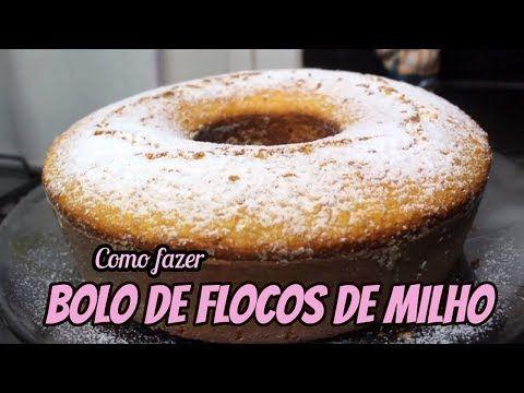 Como Fazer Bolo De Flocos De Milho Facil Receitas Da Paty