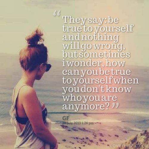 Teenage Girl Love Quotes And Sayings : Dont Know Who You Are Anymore Pictures, Photos, and Images for ...