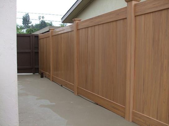Veranda Linden 6 Ft H X 8 Ft W Cypress Vinyl Privacy Fence Panel