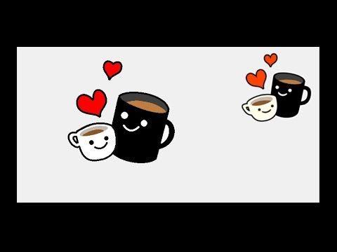 Coffee Emoji And 3 Diamonds