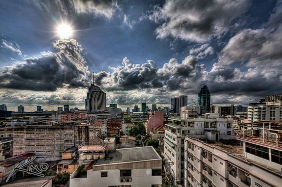 First HDR Cityscape of Bangkok | Flickr - Photo Sharing!