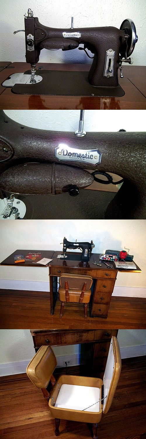 domestic rotary electric sewing machine model 151