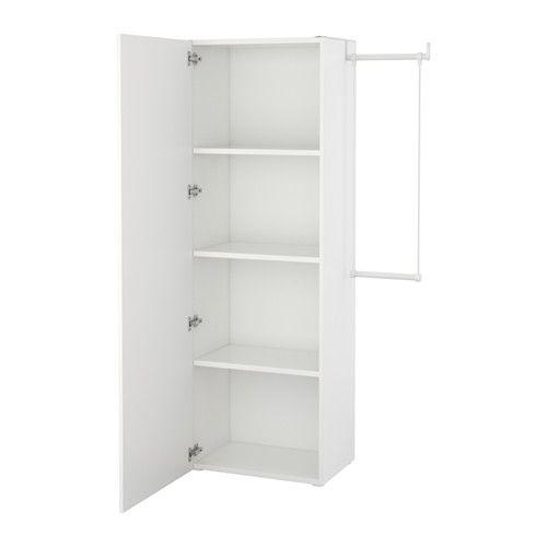 Ikea Struttura Guardaroba Pax.Platsa Guardaroba Bianco Fonnes Bianco 95 120x42x181 Cm In 2020