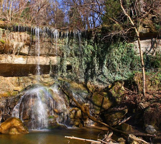 4. Mint Spring Bayou Falls, Vicksburg
