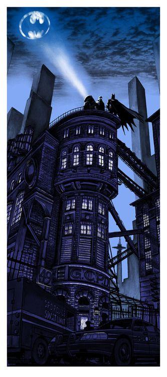 Batman 75th Anniversary (Blue variant) by Tim Doyle