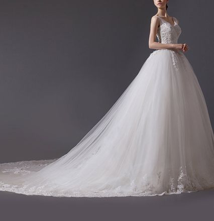 Wedding Dress MELISSA Sisi Stil Kauf/Verleih - AmourElle