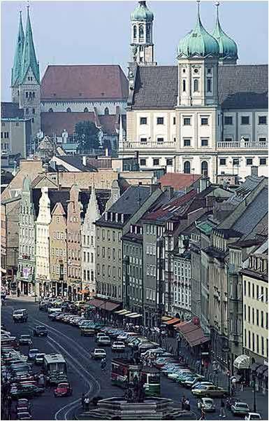 Beautiful Augsburg! I so miss my birthplace !!!