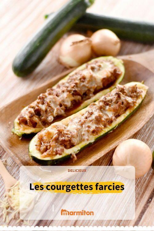 Courgettes Farcies Recette Recettes De Cuisine Courgettes