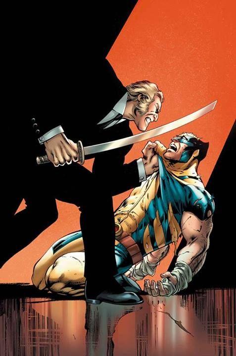 Wolverine vs Sabertooth by Alan Davis *
