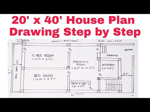 House Plans, How To Draw A House Plans Step By