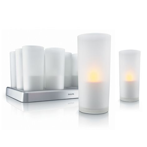 philips imageo kit pro 12 bougies led rechargeables bougie candle led pinterest. Black Bedroom Furniture Sets. Home Design Ideas