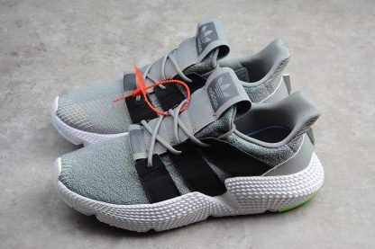 New adidas Prophere Shoes Wolf GreyBlack Shock Lime in 2019