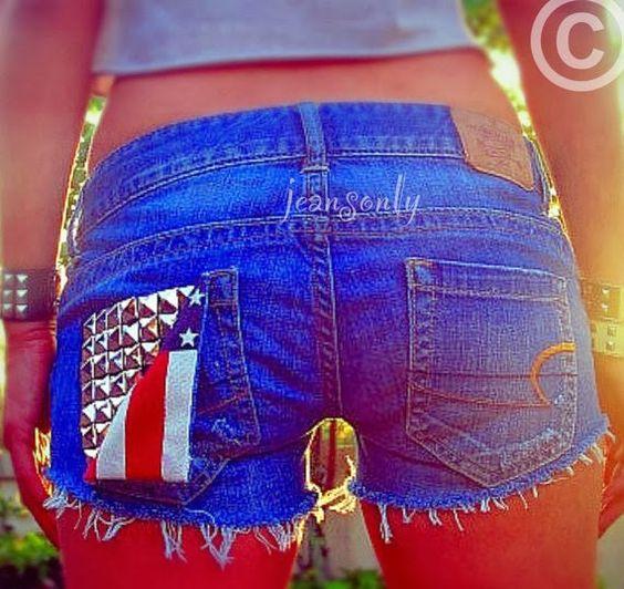 KoloDIY: Короткие джинсовые шорты своими руками