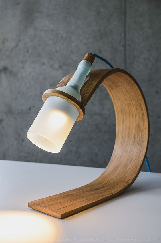 Max Ashford / Steam bending wood / Interesting process / Curved form / functionality through being a base and stand