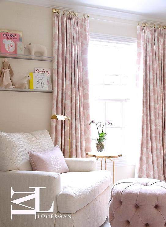 1 5 Dia 35 114 Custom Lucite Curtain Rod W Nursery Curtains