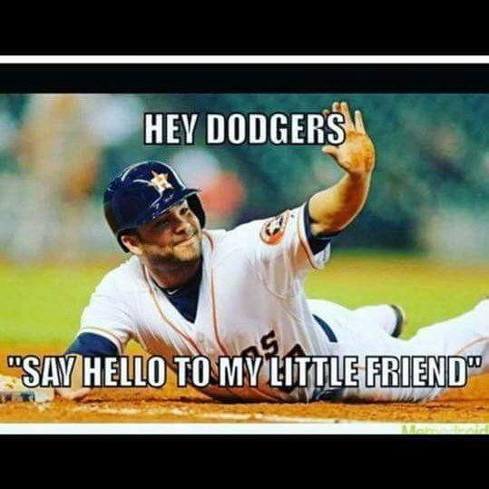 Yessss Go Stros Altuve Astros Worldseries Littlefriend Funny Funnymemes Houston Astros Baseball Baseball Humor Funny Baseball Memes