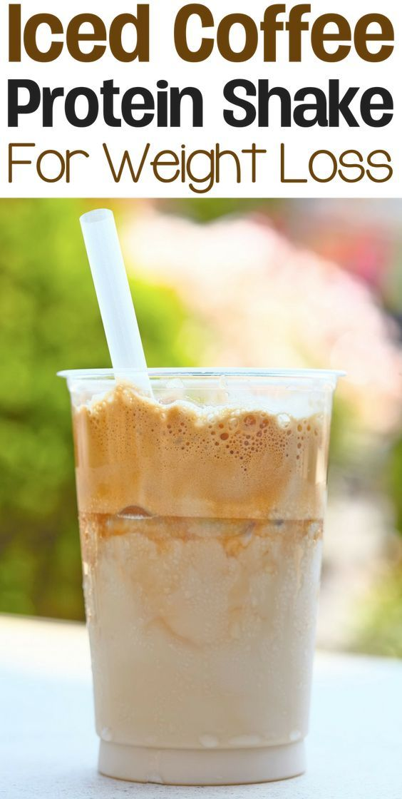 This iced coffee protein shake is low in calories but incredibly rich in protein and other healthy nutrients. This makes it a great weight loss shake for coffee lovers.