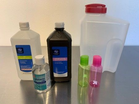 Homemade Hand Sanitizer Hand Sanitizer Cleaners Homemade Diy
