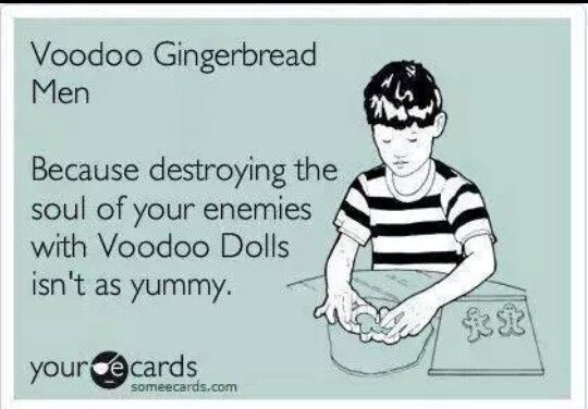 Voodoo Gingerbread Men