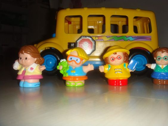 Ônibus Musical Little People- Fisher Price - Luz E Som - R$ 70,00 no MercadoLivre