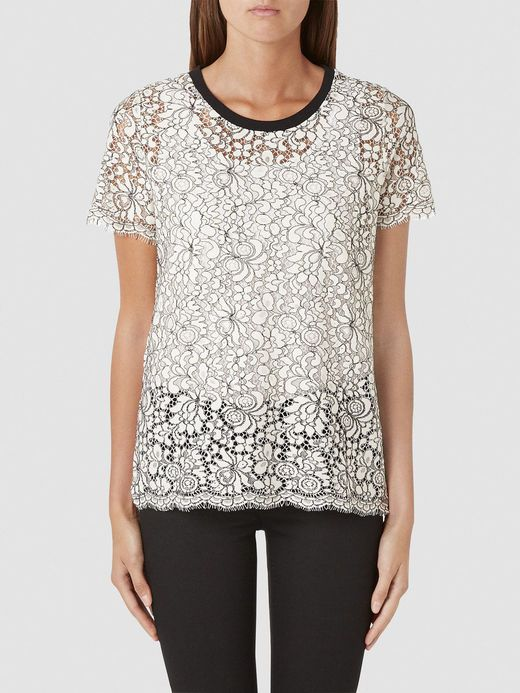 LACE - T-SHIRT, Jet Stream