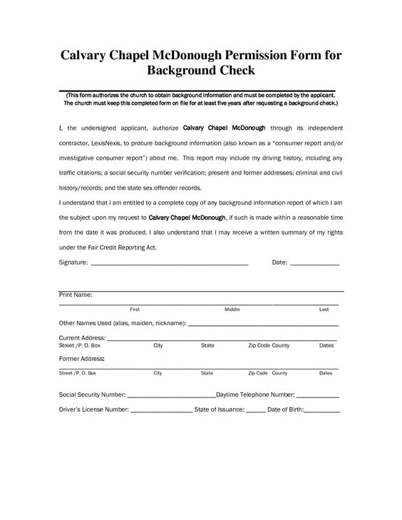 Check Form Templates Check out this Background Check Reviews - background check release form
