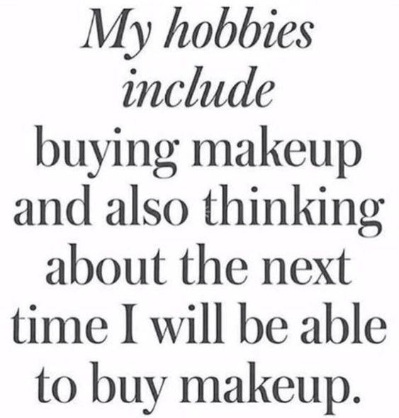 Makeup quote.