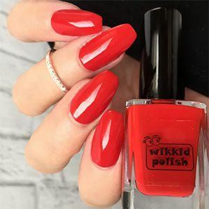 Wikkid- Creme- Brilliant Red
