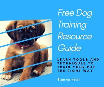 Free Dog Training Resource Guide Dog Training Dogs Dog Training Tips