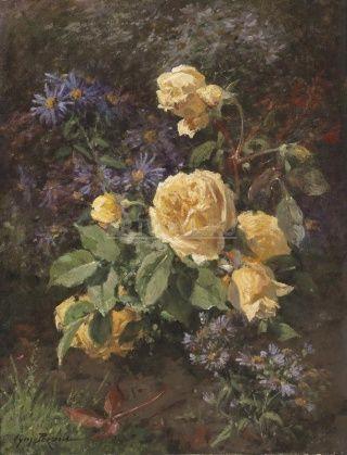 Купить картины современных художников с букетами цветов и полевыми цветами от 270 руб. — страница 7
