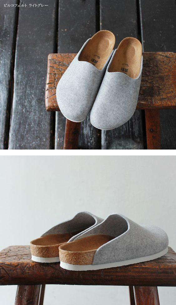 mmmmm slippers! Birkenstocks