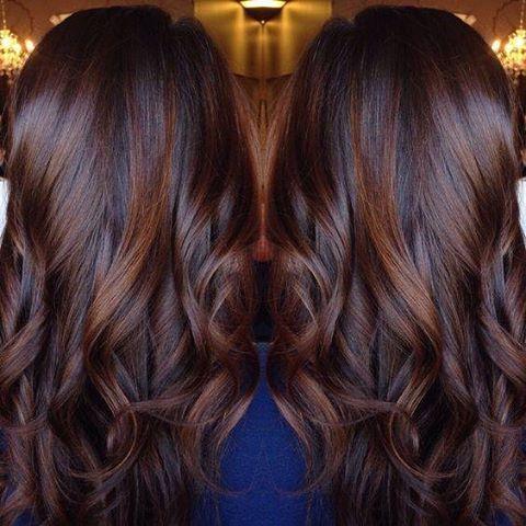 Risultati Immagini Per Balayage Color Cioccolato Hair Nel