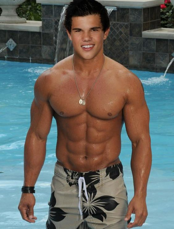 Taylor Lautner - - - If you can't tell that this is NOT ...