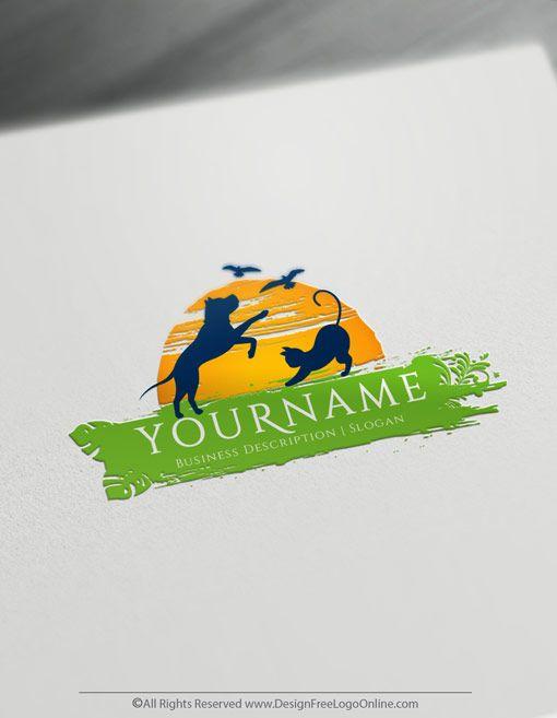 Create A Vet Logo For Free Veterinarian Logo Design Pet Logo