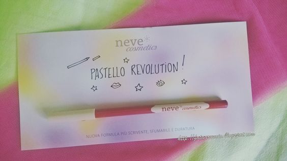 Neve Cosmetics-Pastello labbra Motion Pastello revolution