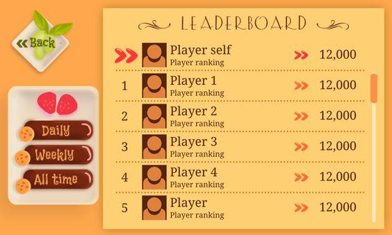 ゲームのUI -して、Sumeet Kalindiによる空腹ハムスター、Behance経由                                                                                                                                                     もっと見る