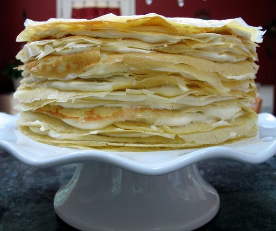 Mille Crêpes a Very Special Cake | Big Red Kitchen - a regular gathering of distinguished guests