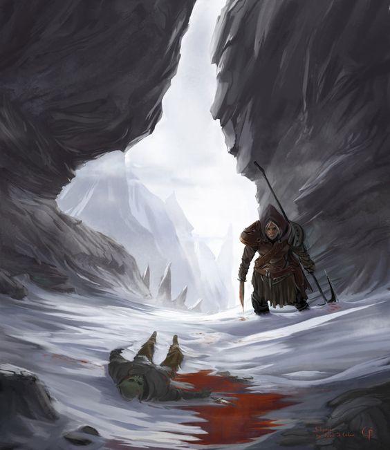 New Art for The Elder Scrolls V: Skyrim Copyright by Bethesda Softworks. Art by me. Enjoy meele warrior. Original Size – 1800x2080 PM me to get it.