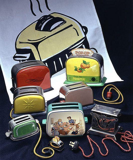 Vintage toy toasters