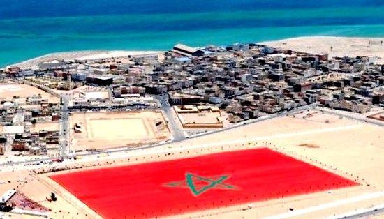 دول عربية ترحب بإعتراف أمريكا بسيادة المغرب على الصحراء Western Sahara Airplane View City Photo