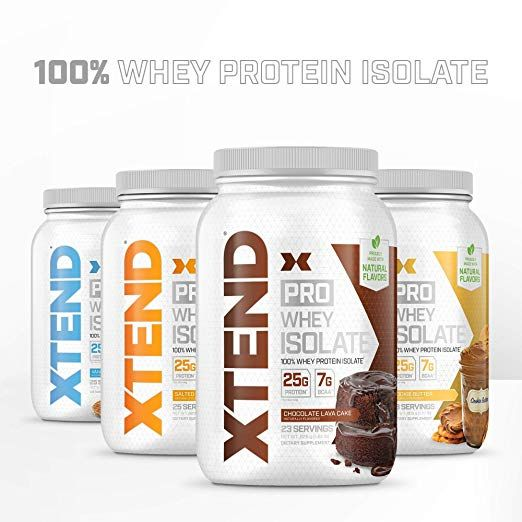Amazon.com: Scivation Xtend Pro, 100% Whey Protein Isolate Powder with BCAAs & Natural Flavor… | Workout recovery drink, Whey isolate protein powder, Chocolate lava