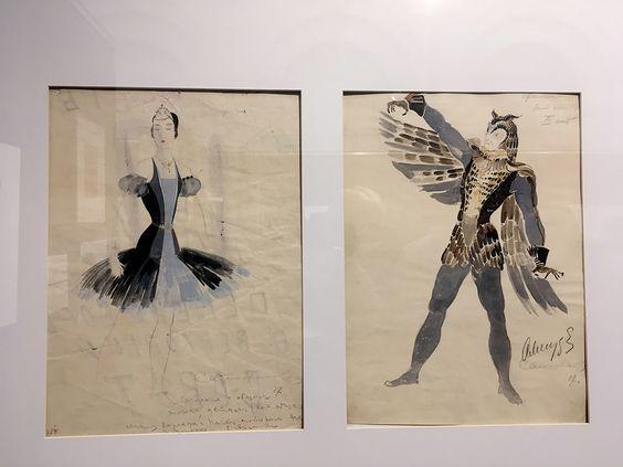 С.К. Самохвалов, эскизы костюмов к балету