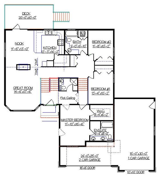 House Plans The O 39 Jays And Bonus Rooms On Pinterest