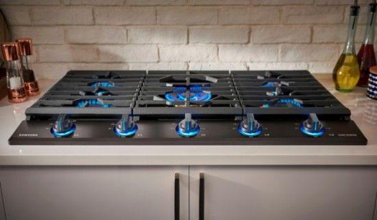 Samsung Chef Collection 30 Gas Cooktop Fingerprint Resistant