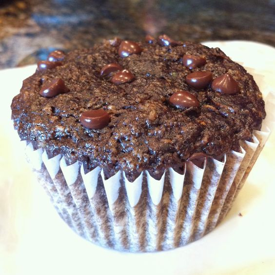 Chocolate Zucchini Muffins: cocoa powder, almond flour ...