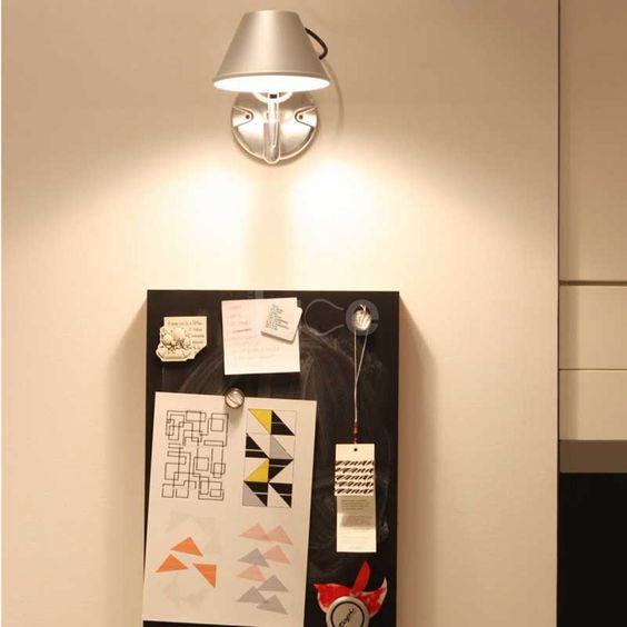 ピクチャーライト ブラケット アルテミデ 照明 コーディネート例